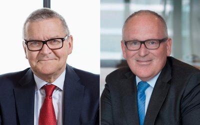 Næstformand i EU-kommissionen Frans Timmermanns og Nationalbankdirektør Lars Rohde indleder VL Døgnet