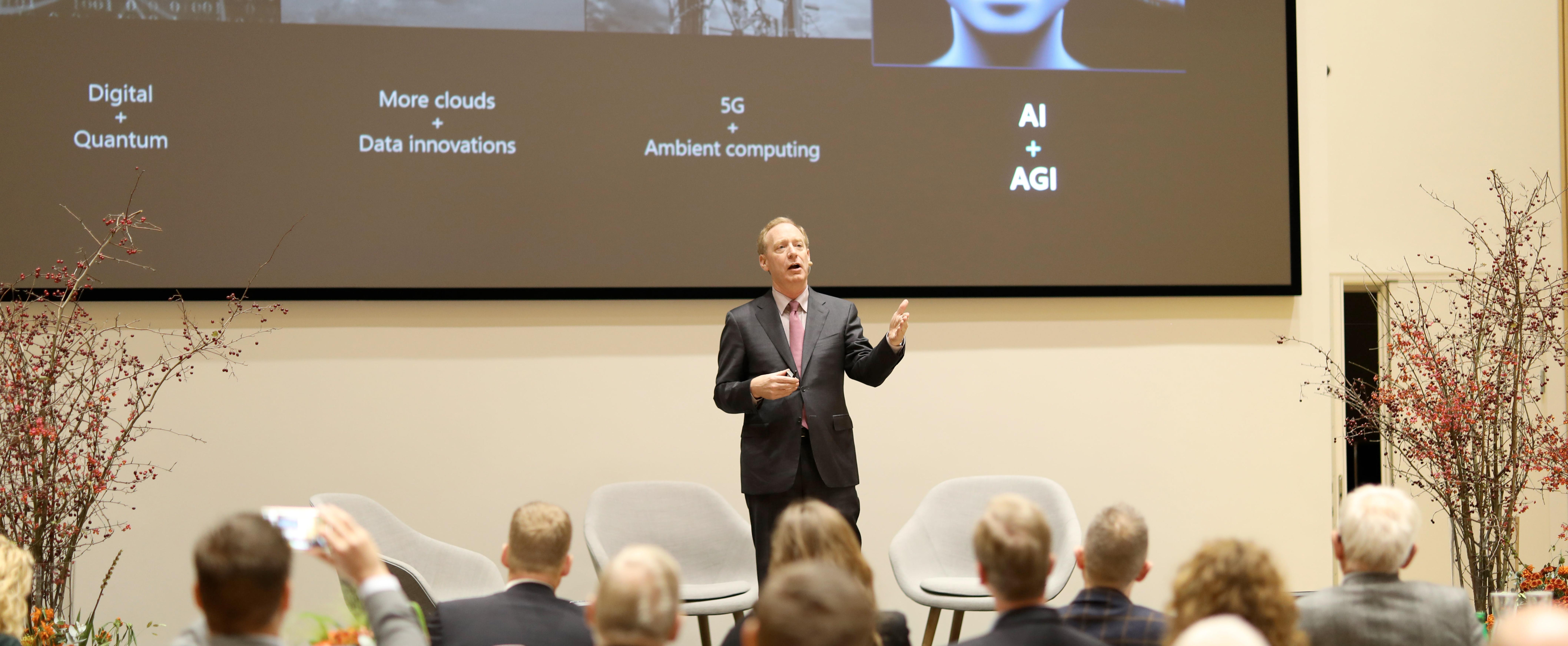 En af verdens vigtigste techbosser talte om Responsible Business