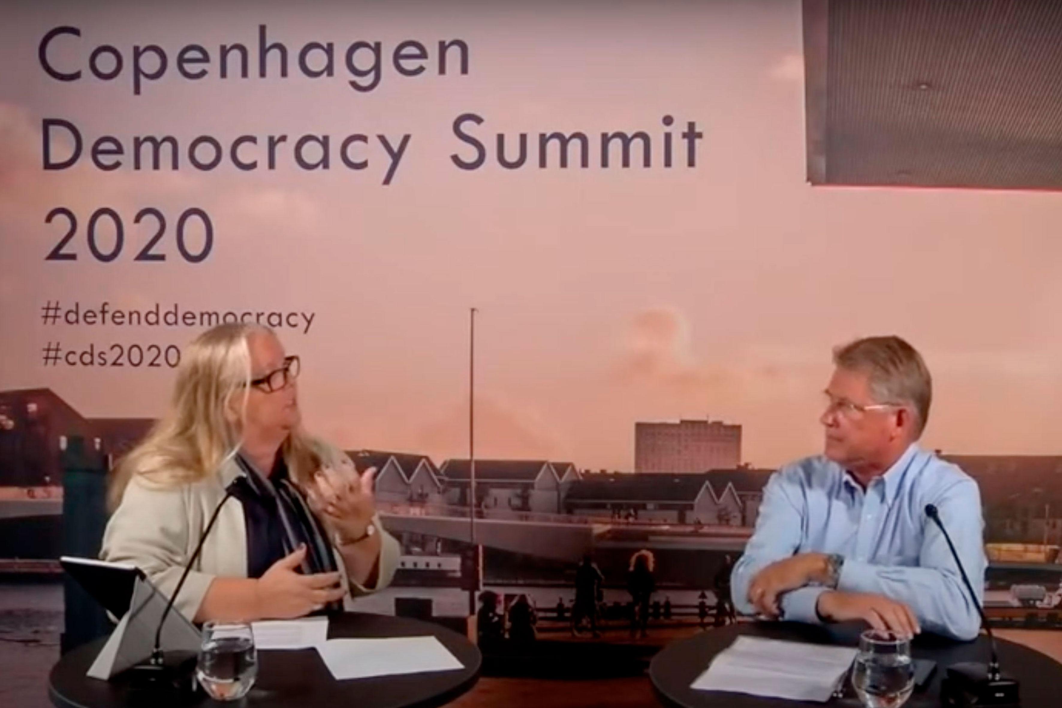 The Copenhagen Democracy Summit 2020