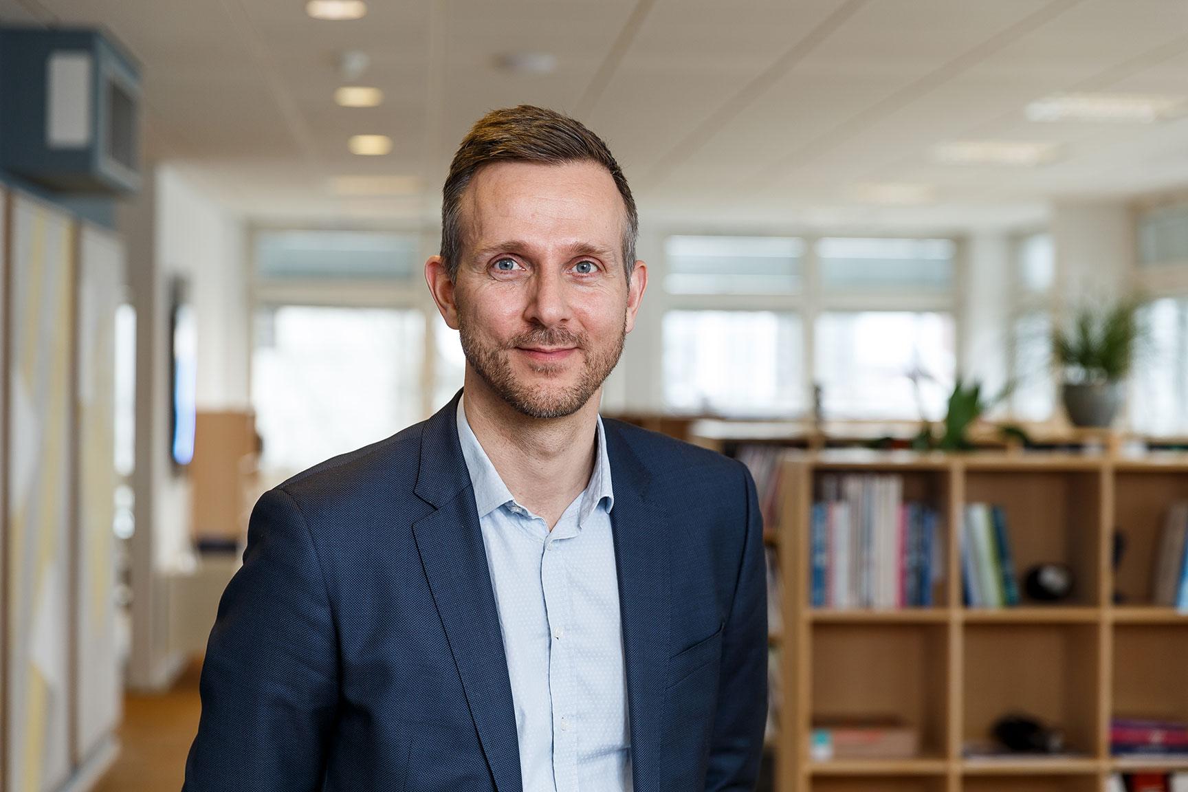 Jakob Brandt, direktør i SMVdanmark