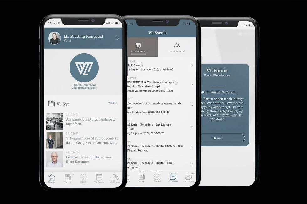 Lancering af VL Forum App