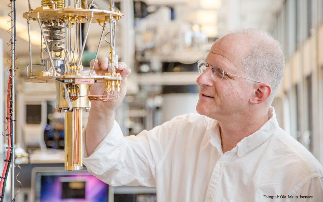 Charles Marcus' kvante-forskning efterlader dig åndeløs! Mød kvante-teknologiens mester i VL-studiet
