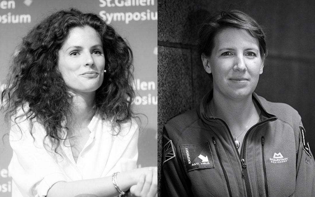 TO NYE højtprofilerede talere på VL Døgnet 2021: Felicity Aston og Märtha Rehnberg